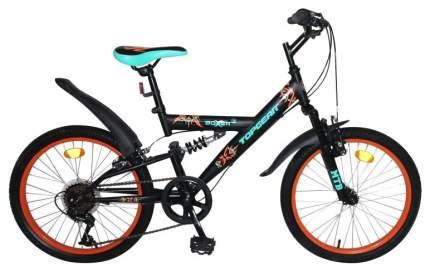 """Велосипед Topgear Boxer 20"""" ВН20205 черный"""
