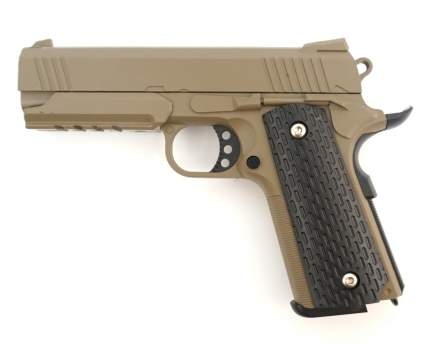 Страйкбольный пружинный пистолет Galaxy  Китай (кал. 6 мм) G.25D (песочный)