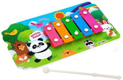 Металлофон игрушечный Забияка Весело поём 3524515