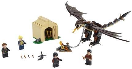 Конструктор Гарри Поттер: Турнир трёх волшебников: Венгерская хвосторога, 265 деталей LEGO