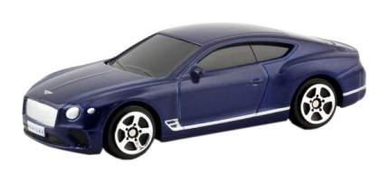 Машина металлическая RMZ City 1:64 The Bentley Continental GT 2018 (цвет синий)