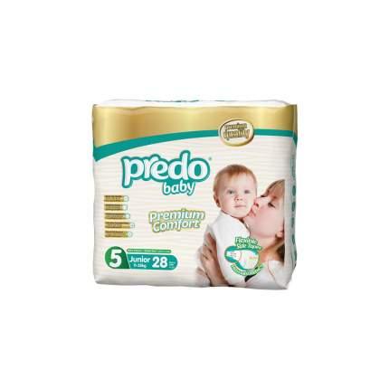 Подгузники Predo Baby Junior №5 Двойная пачка 28 шт. 11-25 кг