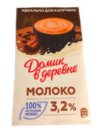 Молоко Домик в деревне 3.2% для капучино 950 г