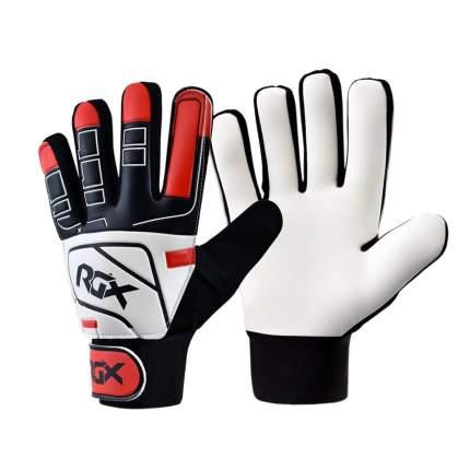 Вратарские перчатки RGX GFB04, white/black/red, L