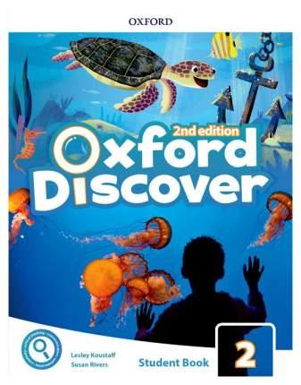 "Книга Oxford University Press ""Oxford Discover 2: Student Book Pack"""
