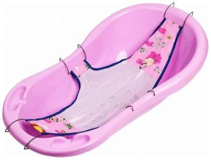 Лежак для купания Sima-Land Куп-куп розовый