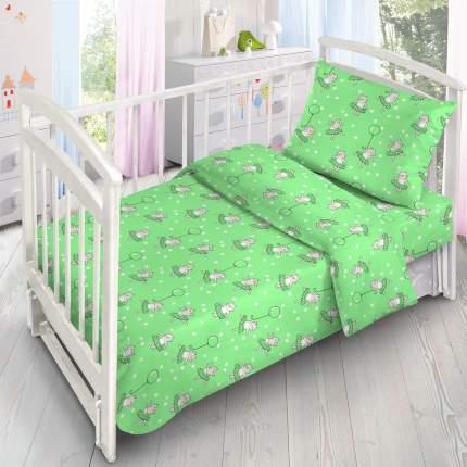 Детское Постельное белье Ночь Нежна Los Цвет: Зеленый (110х140 см)
