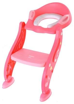 Сиденье на унитаз,с мягким сиденьем , цвет розовый Sima-Land