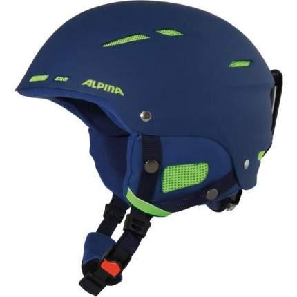 Горнолыжный шлем Alpina Biom 2019, синий, M