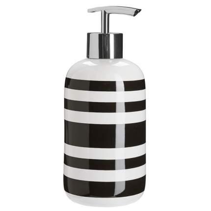 Дозатор для жидкого мыла See-Mann-Garn Lina, черный