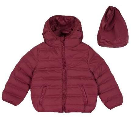 Куртка Chicco для мальчиков р.122 цв.темно-красный