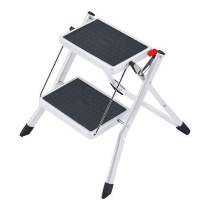 Стремянка-табурет Hailo Mini стальная с резиновым ковриком 2 ступени