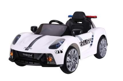 Детский электромобиль Barty Porsche 911 Police Б005OС, Police Белый