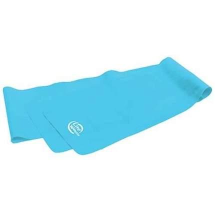 Ремень для йоги Lite Weights 1540LW, голубой