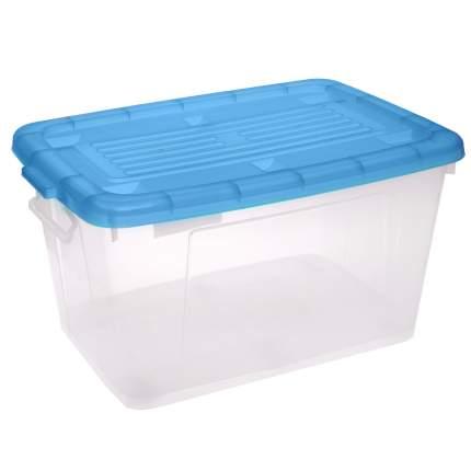 Ящик для игрушек Дарел Ящик с крышкой 75 л в ассортименте