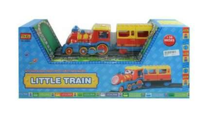 Железнодорожный набор Junfa toys со звуковыми и световыми эффектами