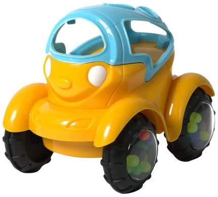 Машинка-неразбивайка, сине-жёлтая