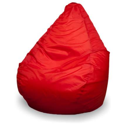 Кресло-мешок ПуффБери Груша Оксфорд XXXL, красный