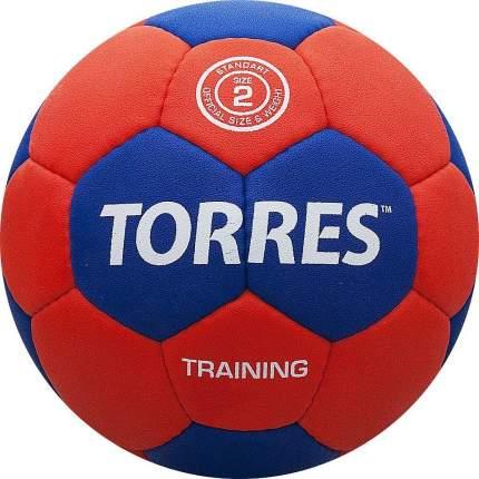 Мяч гандбольный Torres Training SS18, 2, красный