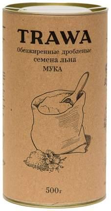 Мука Trawa из обезжиренных семян льна 500 мл