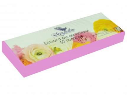 Бумага для депиляции в полосках Dona Jerdona Розовая 7*22, 50 шт