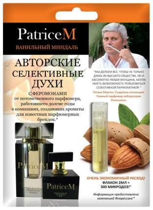Женские духи с феромонами PatriceM ванильный миндаль 2 мл