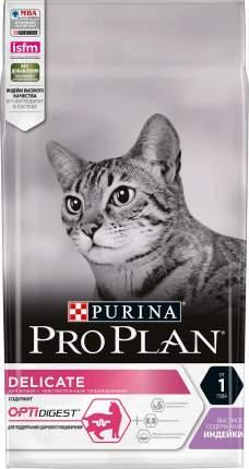 Сухой корм Pro Plan Delicate Optidigest для кошек 3кг, Индейка