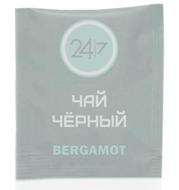 Чай черный 24/7 со вкусом бергамота  500 пакетиков