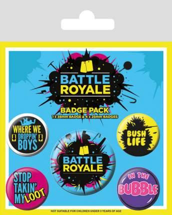 Набор значков Pyramid Battle Royale - Infographic (5 шт) BP80674