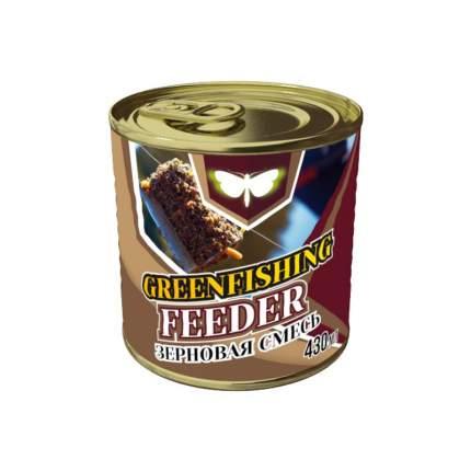 Добавка Зерновой микс Фидер оригинал для ловли белой рыбы, 0,43 л, сладкий