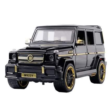 Коллекционная модель машины джип MRS GEL Y 21см , цв. черный