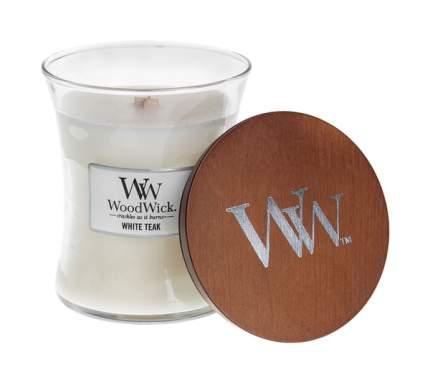 Ароматическая свеча WoodWick Белый тик 816-400 Белый