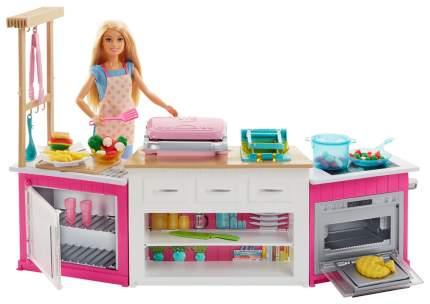 Кукла Barbie супер кухня с куклой FRH73