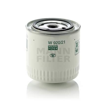 Фильтр масляный MANN-FILTER W9202110