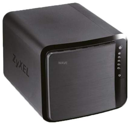 Сетевое хранилище NAS Zyxel NAS542-EU0101F Черный