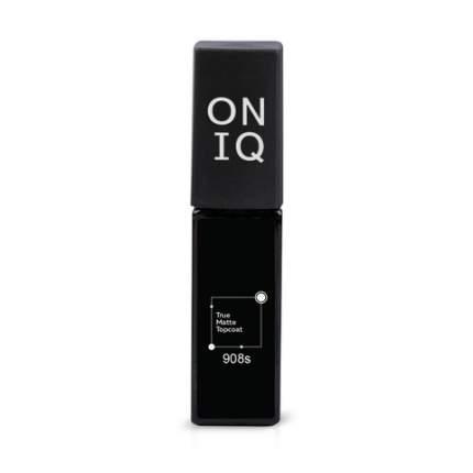 Финишное покрытие Oniq True Matte Topcoat с матовым эффектом 6 мл