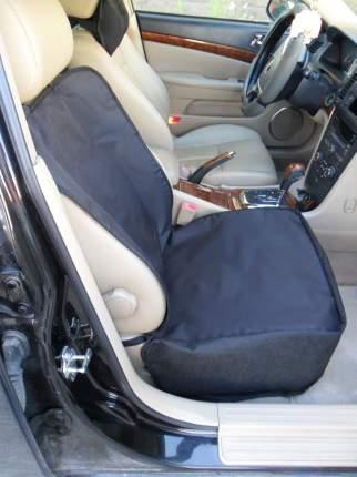 Защитная накидка для перевозки животных на переднее сиденье (чёрная)