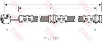 Тормозной шланг TRW/Lucas PHD346