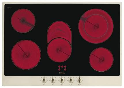 Встраиваемая варочная панель электрическая Smeg P875PO Black