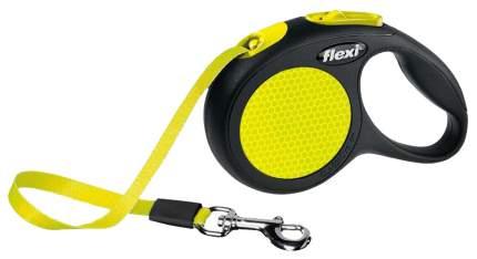 Поводок-рулетка flexi New Classic 500см желтый