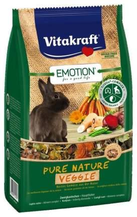Корм для кроликов Vitakraft Emotion Pure Nature Veggie 0.6 кг 1 шт