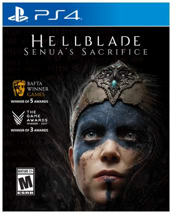 Игра Hellblade: Senua's Sacrifice для PlayStation 4