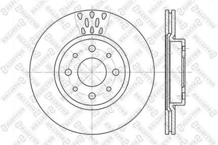 Тормозной диск Stellox 6020-9921V-SX