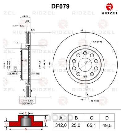 Страница 3 - Тормозные диски RIDZEL - маркетплейс goods ru