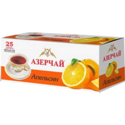 Чай черный Азерчай апельсин 25 пакетиков