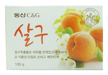 Мыло туалетное абрикос Apricot Soap 100 г