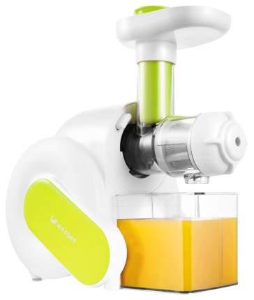 Соковыжималка шнековая Kitfort КТ-1110-1 white/green
