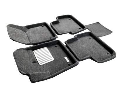 Комплект ковриков в салон автомобиля для Land Rover Euromat Original Lux (em3d-003107g)