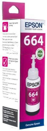 Чернила для струйного принтера Epson C13T66434A, пурпурные, оригинал