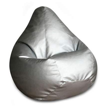 Кресло-мешок DreamBag Кресло-мешок, размер XL, экокожа, серебряный